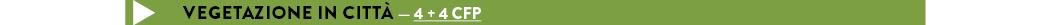 vegetazione in città — 4 + 4 CFP