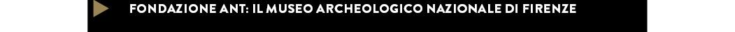 IL MUSEO ARCHEOLOGICO NAZIONALE DI FIRENZE — Fondazione ANT Italia onlus