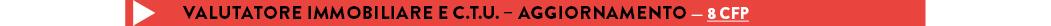 VALUTATORE IMMOBILIARE E C.T.U. – AGGIORNAMENTO — 8 CFP