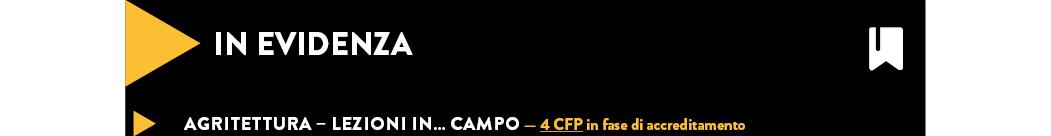 Agritettura – Lezioni in… campo — 4 CFP in fase di accreditamento