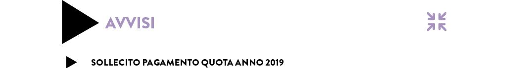 SOLLECITO PAGAMENTO QUOTA ANNO 2019