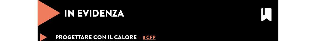 Progettare con il calore — 3 cfp