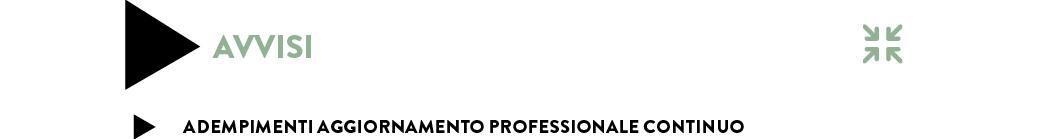 ADEMPIMENTI AGGIORNAMENTO PROFESSIONALE CONTINUO PER IL TRIENNIO 2017-2019