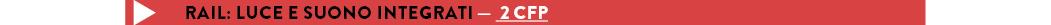 RAIL: LUCE E SUONO INTEGRATI — 2 CFP per modulo