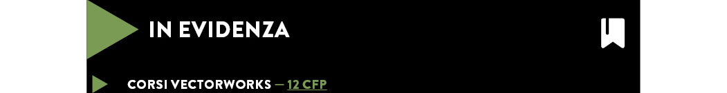 Corsi Vectorworks — 12 CFP