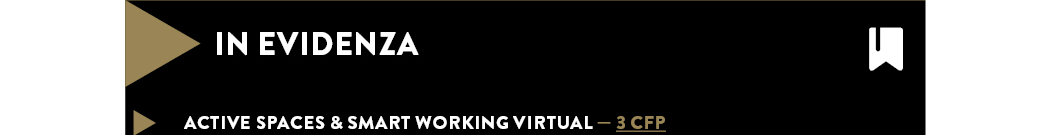 ACTIVE SPACES & SMART WORKING VIRTUAL — 3 CFP