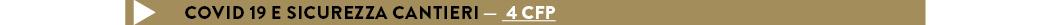 Covid 19 e sicurezza cantieri — 4 CFP