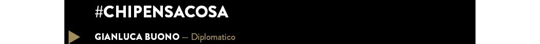GIANLUCA BUONO — Diplomatico