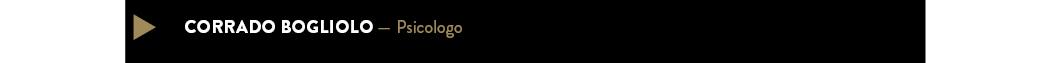 CORRADO BOGLIOLO — Psicologo