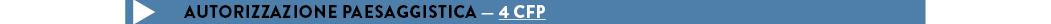 Autorizzazione paesaggistica — 4 CFP