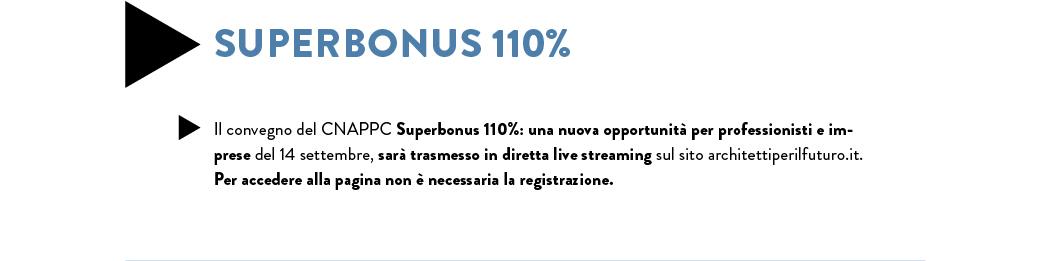 Superbonus 110% convegno