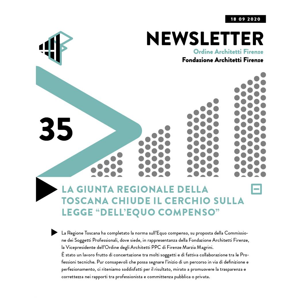 La Giunta regionale della Toscana chiude il cerchio sulla legge dell Equo compenso