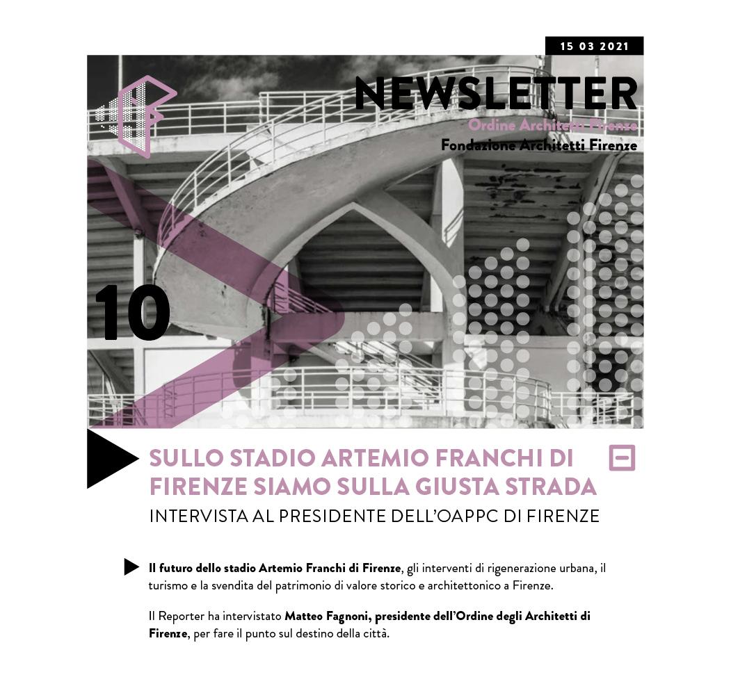 SULLO STADIO ARTEMIO FRANCHI DI FIRENZE SIAMO SULLA GIUSTA STRADA