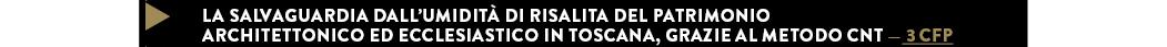 LA SALVAGUARDIA DALL'UMIDITÀ DI RISALITA DEL PATRIMONIO