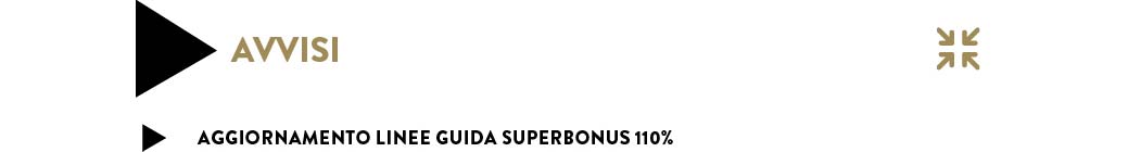 aggiornamento linee guida superbonus