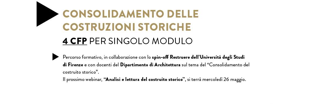 Consolidamento delle costruzioni storiche